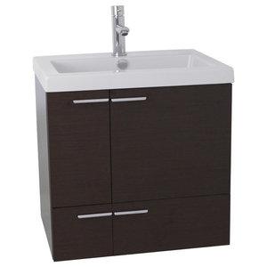 "23"" Bathroom Vanity Set, Wenge"