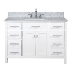 Design Element Valentino 48-inch Single Vanity White