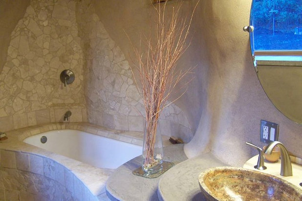 Eclectic  by Earthen Touch Natural Builders, LLC
