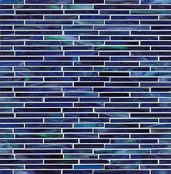Non-Irid. Nocturnal Sea Glass Mosaic - Mosaic Tile