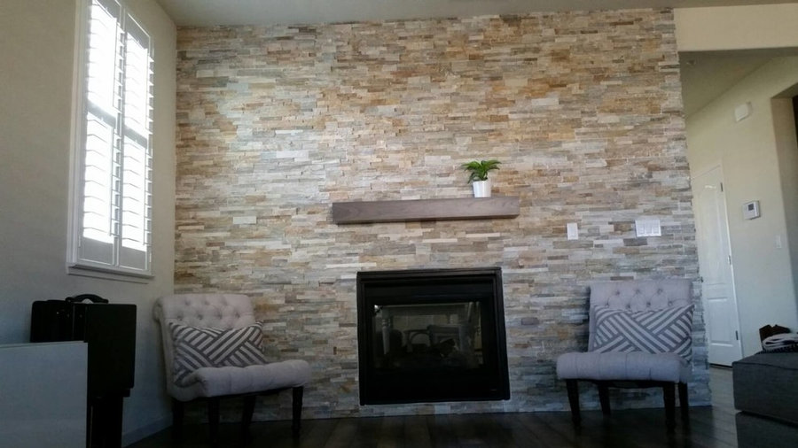 Fire place mantels & floating shelves