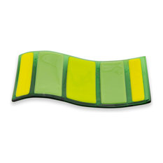 Horizontal Green and Yellow Spoon Rest