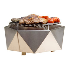 Stainless Steel Charcoal Table Grill, Curonian