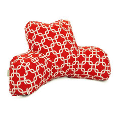Red Links Reading Pillow
