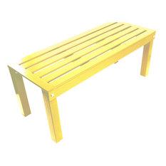 Penrose Wood 5' Bench 6018S Coastal Yellow