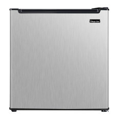 Energy Star 1.7-Cu. Ft. Mini All-Refrigerator With Stainless Door