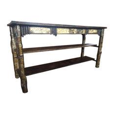 Arden Creek Designs   Adirondack Birch Twig Sofa Table   Console Tables