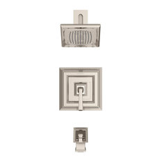 Town Square S Tub and Shower Trim Kit With Cartridge, 2.5 GPM, Polished Nickel