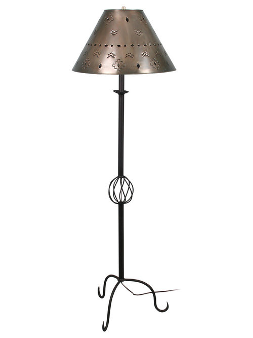 Bon Rustic Tin And Iron Table Lamps U0026 Floor Lamps