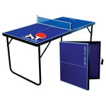 Park & Sun Sports - Mini Table Tennis - Popular game of table tennis in a smaller version. Minimal playing area required.