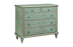 Danielle Five Drawer Accent Chest