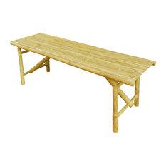 Bamboo Folding Bench