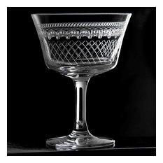 Retro Fizz 1910 Cocktail Glass
