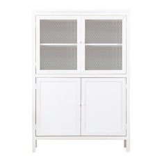 Wooden Nordic Display Cabinet
