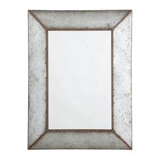 Ashley O'Tallay Decorative Mirror, Antique Gray