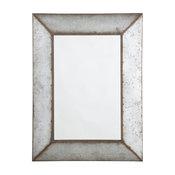 Accent Mirror in Antique Gray