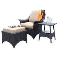 Huntington 3-Piece Relaxing Deep Seat Set With Cushion