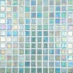 """Vidrepur - 12.5""""x12.5"""" Shell Crystal 553 Glass Tile - Quick Overview:"""