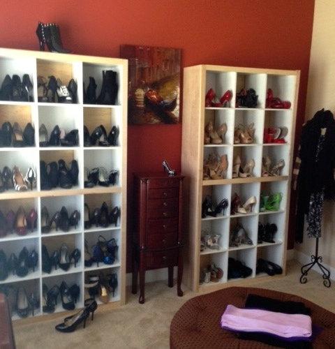 Shoe Closet Makeover - Atlanta, Georgia