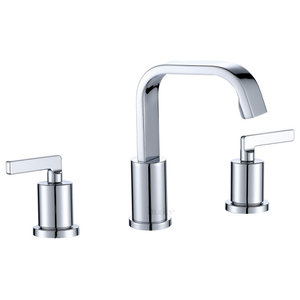 Chesapeake 8 Widespread Bathroom Faucet With Pop Up Drain Assembly Transitional Bathroom Sink Faucets By Speakman Company