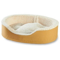 Oliver Foam Dog Bed, Toast, Small