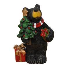 Christmas Bear, Kringle for Miniature Garden, Fairy Garden