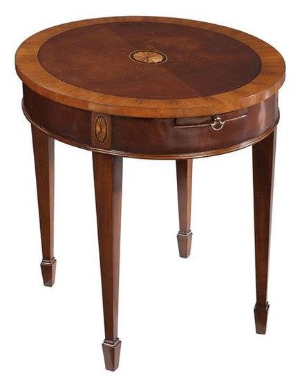 Hekman Copley Place Oval Lamp Table In Copley