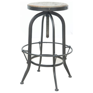 Sensational Natural Kitchen Swivel Bar Stool Farmhouse Bar Stools Ocoug Best Dining Table And Chair Ideas Images Ocougorg