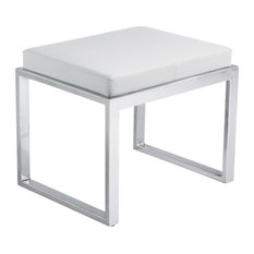 Artefac Contemporary Stool White Vanity Stools And Benches