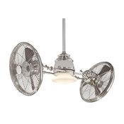 "MinkaAire Vintage Gyro Vintage Gyro 42"" Sweep 6 Blade Twin Turbo Halogen Indoor"