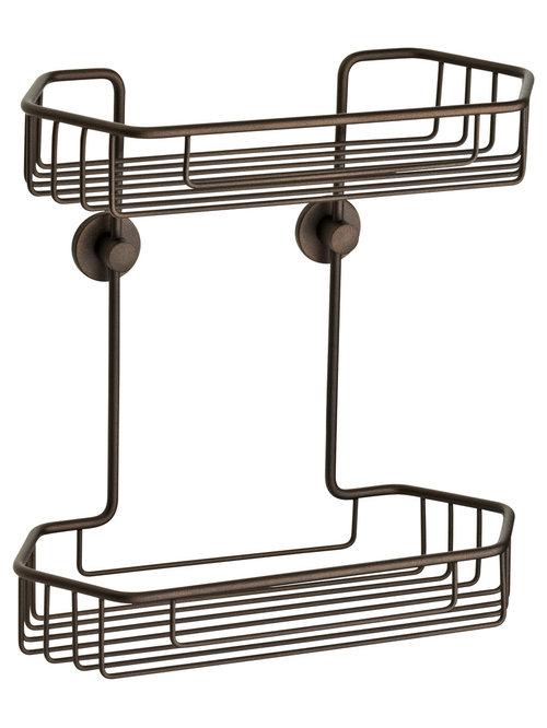 Shower Caddies- no drilling required!