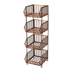 Griffin Copper Storage Rack - Copper