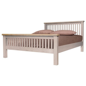 Sunhill Bed, Slatted, Euro King