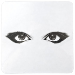Eyes Square Placemats, Set of 4