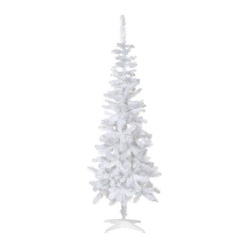6ft white slim christmas tree christmas trees - White Slim Christmas Tree