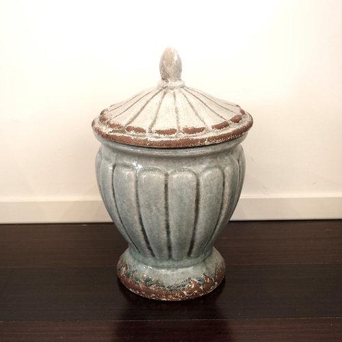 陶器の壷 - 飾り壺・瓶