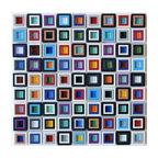 "12""x12"" Windows Square Glass Mosaic Backsplash Wall Tile"