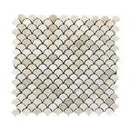 Petite Crema Marfil Waterjet Mosaic Polished