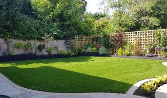Garden in Kent using Grandeur Artificial Grass
