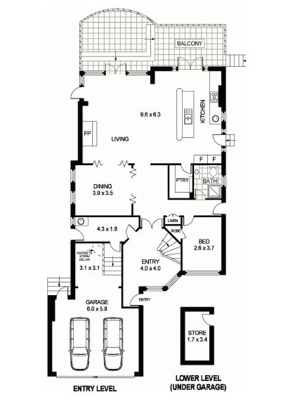 Floor Plan by Infinite Design Studio