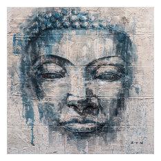 Buddha's Mind- Hand Painted Canvas Art