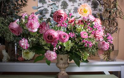 Fråga experten: Så gör du ett stort och lyxigt blomsterarrangemang