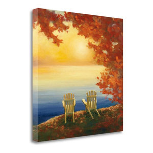 """Autumn Glow II"" By Julia Purinton, Giclee Print on Gallery Wrap Canvas"