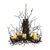 Radiance Non Electric Branch Chandelier