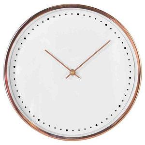 EMDE Golden Rose Wall Clock