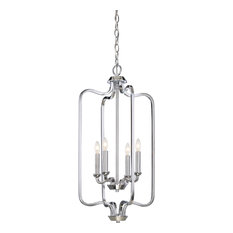 Willow 4 Light Caged Pendant