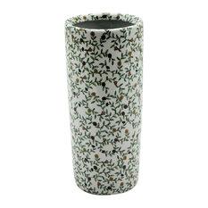 Floral Pattern Ceramic Umbrella Stand
