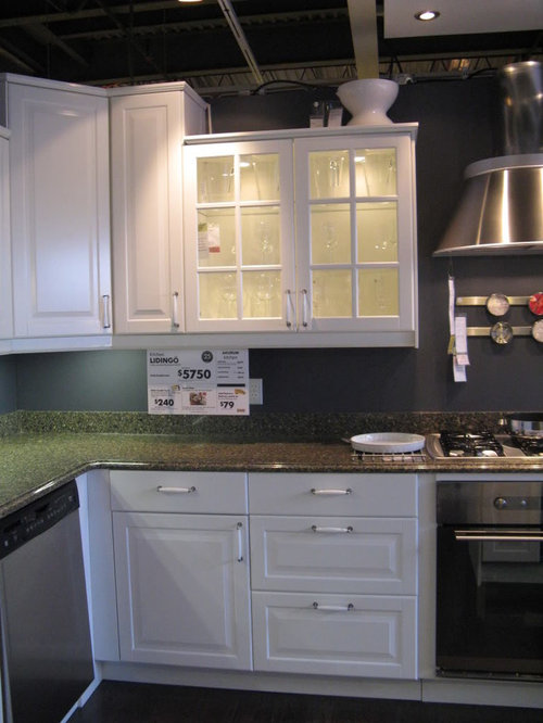 Lidingo White Cabinets Color Of Appliances And Countertops
