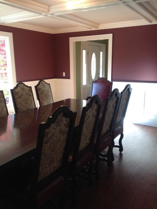Interior Designer Veronica Pluta's Client's Custom Dining Table & Chairs - Dining Tables