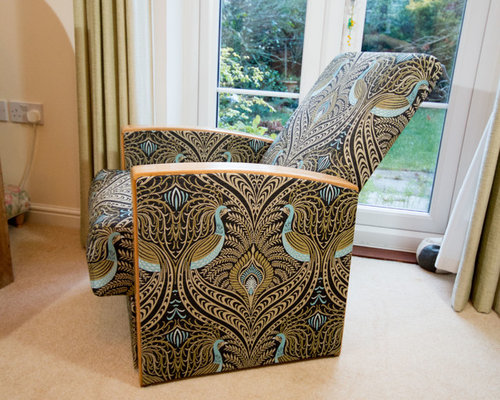 Art Deco recliner armchair - Armchairs And Accent Chairs
